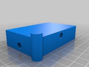 3d printer glass build plate holder - 4-piece 3d printer accessories accessories accessory buikl build plate build platform customizer glass glass build plate parametric