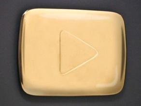 youtube award play button props award button music music award music trophy play button trophy youtube youtube award
