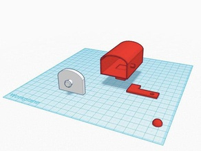 mailbox 3d printing gropkins mailbox mailbox flag mailbox thing