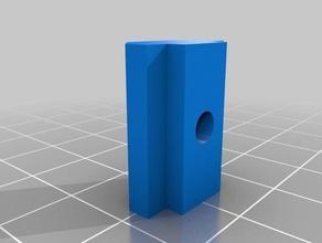 aluminium extrusion t-slot profile 3030 flat 3mm 4mm tapered hole parts 3030 aluminium aluminium extrusion aluminium profile aluminum aluminum extrusion aluminum profile slot t t-slot tslot t slot