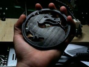 mortal kombat logo segni e loghi il combattimento drago kombat il logo mortail mortale un combattimento mortale mortal kombat