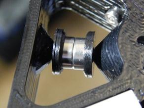 standard 623zz ball bearing flange 3d printer parts 623zz designspark mechanical f623zz flange bearing folgertech kossel kossel bearing