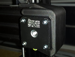 mendelmax 3 x axis motor protector stabilizer 3d printer parts mendelmax mendelmax 3 mm3 motor mount x motor