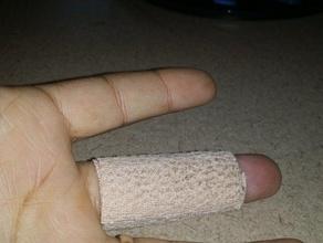 thin profile finger splint broken finger finger cut finger splint finger sprain finger support fist aid hand splint medical splint straingt finger thin