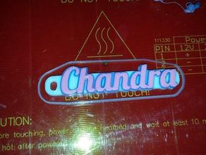 chandra keychain holder 3d printing 3d ke key tag