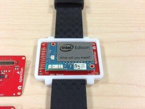 intel edison watch case electronics arduino arduino compatible case edison edison watch electronics enclosure enclosure intel intel edison iot watch wearable