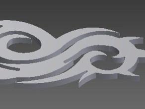 slipknot logo llavero la música 666 llavero el logotipo el metal la música slipknot