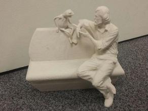 umd jim henson kermit statue scans & replicas henson kermit maryland mckeldin statue terps terrapins umd university maryland