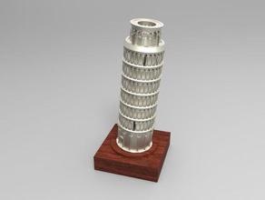 torre pendente di pisa art