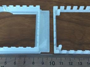 parametric microfluidics device holder custo customizer m microfluidics microscopy nikon