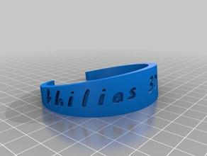 costumized brac bracelets customized