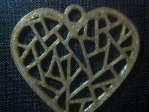 heart mesh pendant fashion 3d art love 3d love 3d mesh love fashion pendant heart heart fashion heart love heart pendant love mesh love pendant