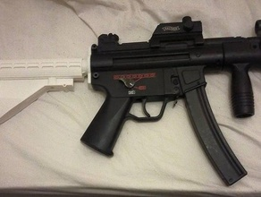 m4 stock mp5k adaptor sport & outdoors airsoft m4 mp5k