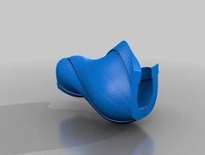 bronc lofted base 3d printing bronc horseshoe lofted base