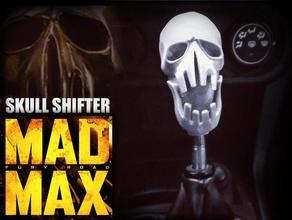 mad max fury road - shifter skull automotive car fury fury road madmax mad max mad max fury road questpact road road wa road warrior shifter shifter knob skull
