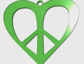 love peace pendant jewelry 3d easy 3d peace easy print fashion love fashion peace love love love charm love pendant peace love pendant valentine day peace