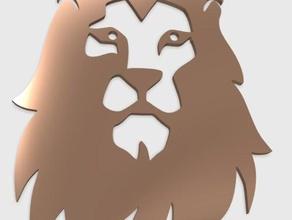 lion head pendant jewelry 3d lion animals big cat head head cat jewelry king animal lion lions lion face lion pendant king