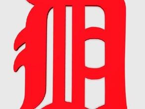 detroit pendant jewelry 3d easy print america detroit detroit detroit city detroit logo detroit pendant easy print pendant people detroit sport detroit