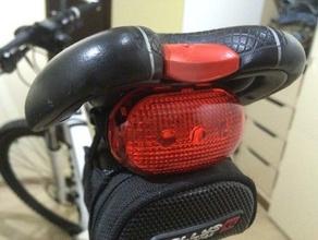 bike light saddle mount bicycle bike flashlight led light mount saddle saddle clamp