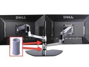spacer monitor arm office monitor arm spacer