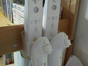 wiimote holder x2 toy & game accessories holder wii wiimote
