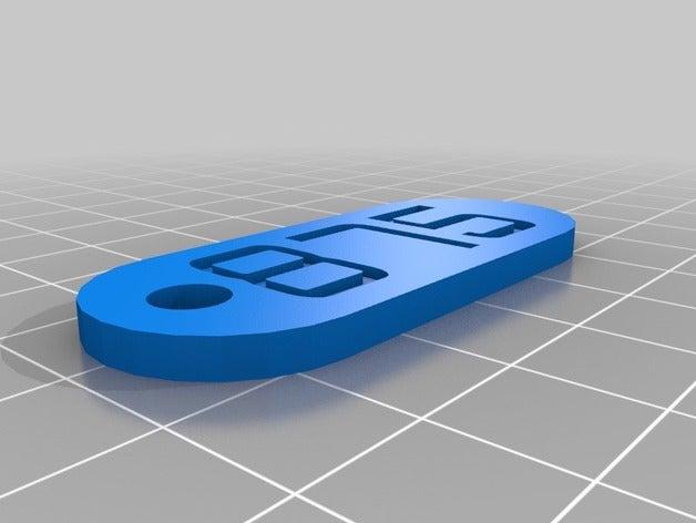 itsc 875 keychains custom