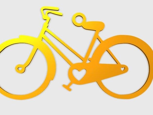 bicycle pendant jewelry 3