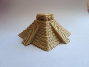 mayan pyramid seetheworld 3d printing seetheworld