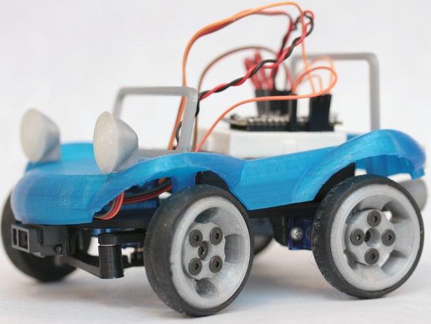 blue buggy r c vehicles b