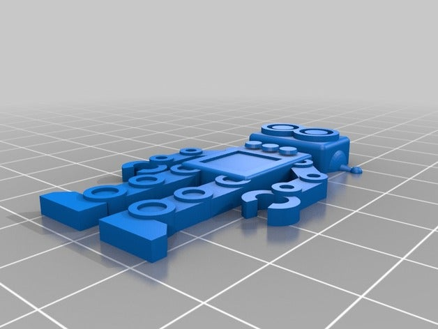 my customized robot keych