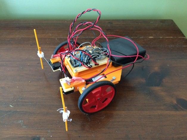 cheddar cheese robot robo