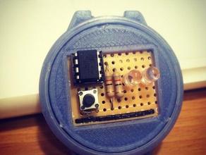 3d printed binary watch accessories arduino binary binary clock clock electronics leds watch