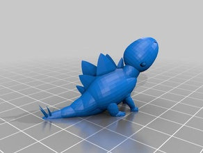 stegosaurus 3d printing adorable adorable dino adorable dinosaur animal baby dino baby dinosaur cute cute dino cute dinosaur dino dinosaur extinct stegosaurus stegosaurus dinosaur
