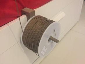 hook based spool holder 3d printer accessories filament holder modular filament holder modular filament spool holder modular spool filament holder modular spool holder spool holder