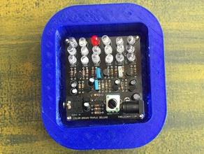 case led color organ triple deluxe ii kit electronics color organ electronics led led color organ make maker shed music
