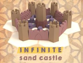 infinite sand castle 5 moulds buildacastle castle infinite mold mould sand sand castle tessellation