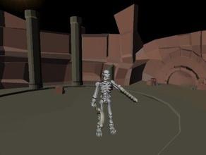 skeleton miner construction toys creation guy mine miner skeleton tinkerplay undead