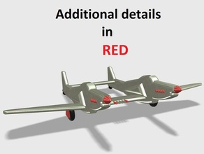 f-82 twin mustang &lt &lt detailed version&gt &gt vehicles air airplane awesome cool easy f-15 f-22 f-82 fighter fun jet mustang plane southgeometric supports twin twins winged ww2 wwii