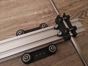 makerslide lm10luu mount 3d printer parts aluminium aluminum bearing extrusion linear lm10luu lm10uu makerslide profile rod smooth