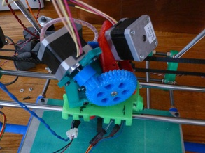 x-carriage jims flying motor mount dual extruder 3d printer extruders prusa x-axis