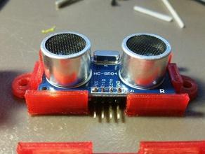 hc-sr04 ultrasonic rangefinder mounting bracket robotics arc arduino bracket case finder hc-sr04 hc-sro4 mega mounting protection range rangefinder robot robotics sensor short protection sonar sonic ultra ultrasonic uno