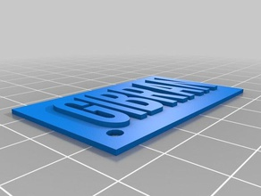 gibrankey 3d printing customizedkey customize key customkey cus key