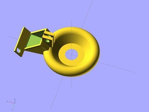 parametric annular fan duct centrifugal blowers 3d printer parts annular blower e3d fan fan duct jhead parts fan