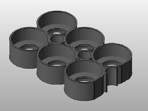 m3d-testor paint tray tool holders & boxes model painting model paint holder model paint tray paint holder testors