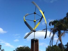 vertikale Windmühle mk2 outdoor & Garten catchthewind engineering high-school Dampf Stamm turbine tvy vawt vertikale wind-turbine Windmühle wind turbine