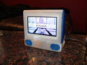 ipi g3 - raspberry pi powered mini imac g3 computer apple g3 imac ipi macintosh pi raspberry raspberry pi