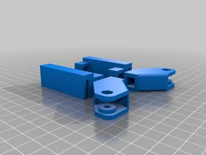 solidoodle 4 - stabilisateur plateau 3d printer accessories plate plateau solidoodle solidoodle 4 solidoodle accessories solidoodle bed solidoodle bed stablizer stabilisateur stabilizer y-axis stabilizer