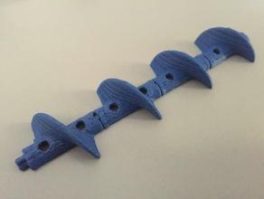 expandable auger gadgets auger expandable fish feeder pellet feeder