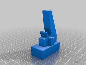 40x40x20mm blower fan shroud rostock max v2 3d printer parts blower fan duct rostock rostock fan rostock max rostock max fan rostock max v2 seemecnc
