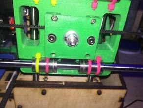 printrbot simple 1405 gt2 belt bearing support 3d printer parts 1405 printrbot printrbot 1405 printrbot simple printrbot simple 1405 printrbot upgrade printrbot upgrade part